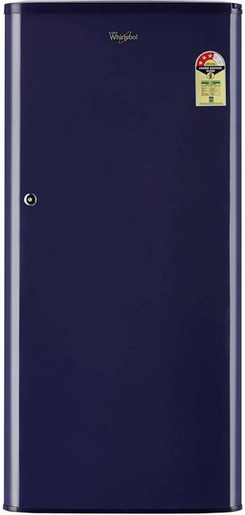 Whirlpool 190 L Direct Cool Single Door 3 Star Refrigerator  (Solid Blue, WDE 205 CLS 3S)