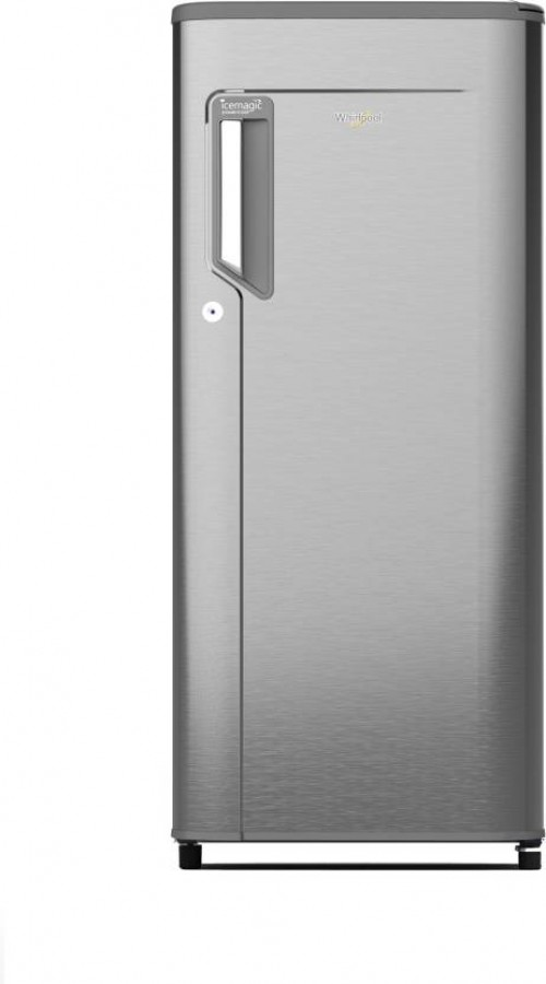 Whirlpool 200 L Direct Cool Single Door 3 Star Refrigerator  (Magnum Steel, 215 IMPWCOOL PRM 3S)